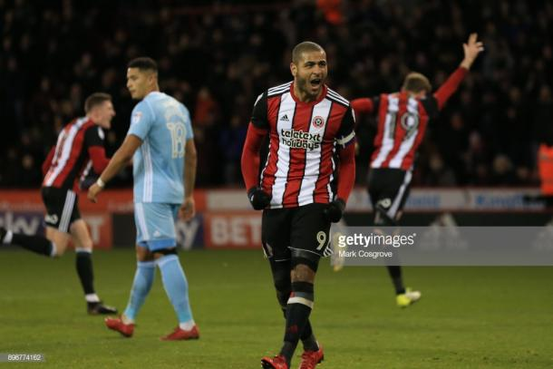 Leon Clarke scored 17 times for Sheffield United in the Championship last season. (picture: Getty Images / Mark Cosgrove)