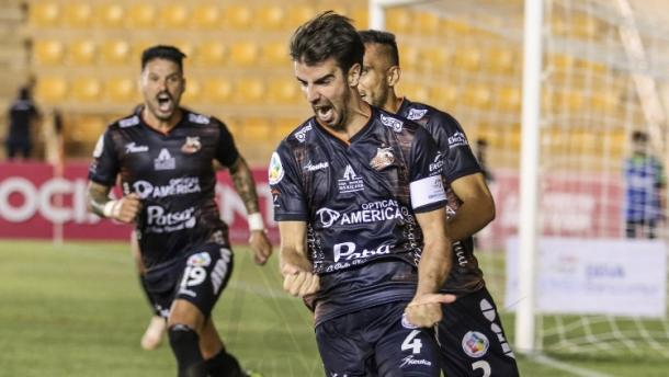 Festejo de gol por parte de Noya|Fotografia: Alebrijes de Oaxaca Oficial.