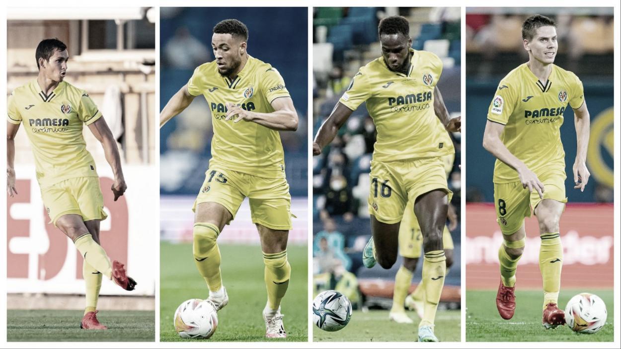 Mandi, Danjuma, Dia y Foyth // Imágenes: Villarreal C.F