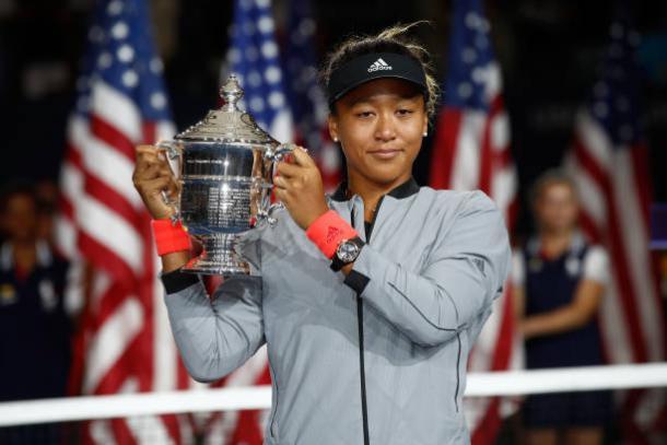 Osaka, 2018 US Open women's singles winner. Photo: Julian Finney