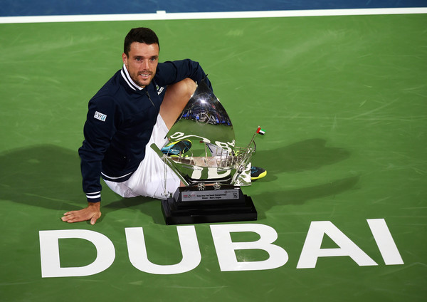 Roberto Bautista Agut scored the biggest title of his career in Dubai last week. Photo: Tom Dulat/Getty Images