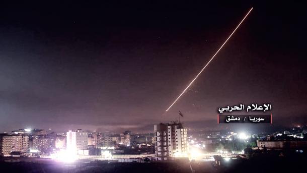 Israel atacó posiciones sirias desde los Altos del Golán | FOTO: RTVE