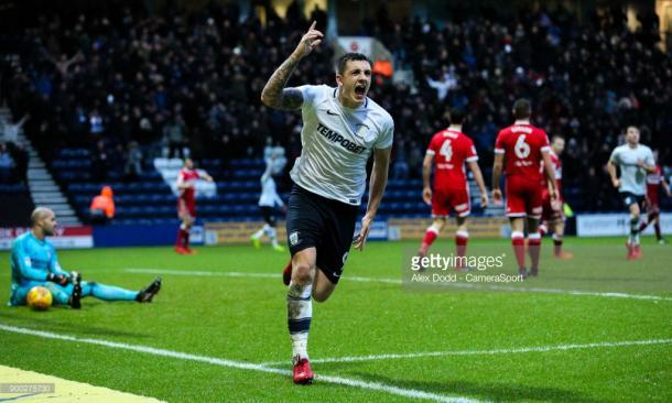 Jordan Hugill has been in fine form for Preston this season. (picture: Getty Images / Alex Dodd - CameraSport)