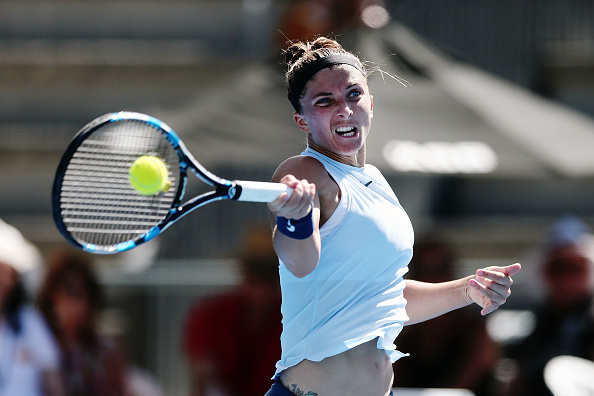 Sara Errani put up a tough fight but Strycova proved to be just too good | Photo: Anthony Au-Yeung/Getty Images AsiaPac