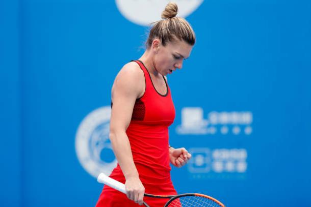 Simona Halep looked in great form today | Photo: Wu Zhizhao / Getty Images AsiaPac