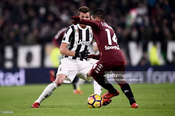 Mario Mandzukic, autor del segundo gol de la Juventus / Foto: gettyimages