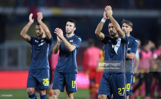 La Sampdoria quiere olvidar su traspiés ante el Benevento / Foto: gettyimages