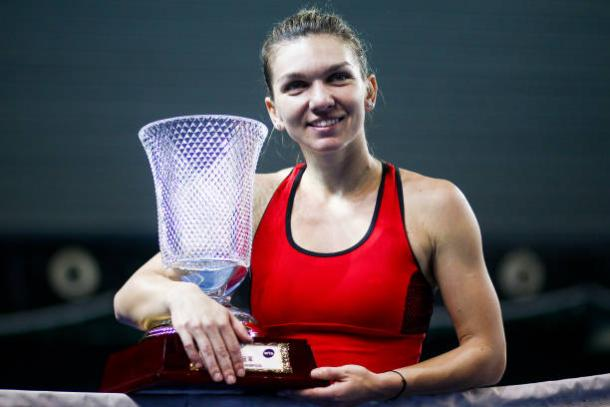Halep won the title in Shenzhen last week (Getty/Zhong Zhi)