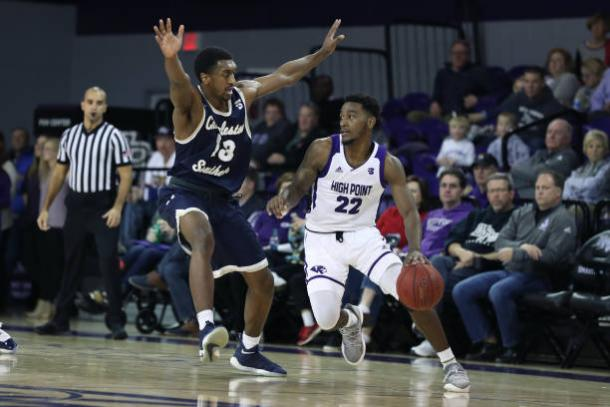 Fox is half a dynamic partnership that could take High Point a long way in the big South tournament/Photo: Getty Images
