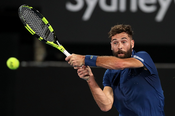 Benoit Paire will be joining three other Frenchmen in the draw (Photo: Mark Metcalfe/Getty Images)