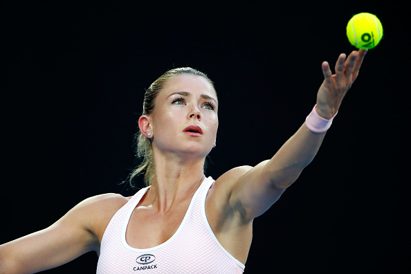Giorgi started brightly but was unable to maintain that level of play (Getty/Scott Barbour)