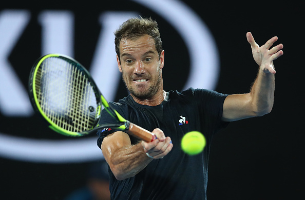 Richard Gasquet going for a fifth title in Montpellier this week (Photo: Clive Brunskill/Getty Images)