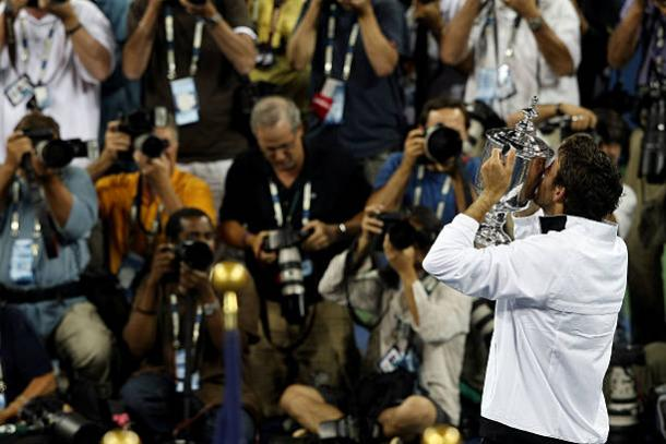The Argentine won his sole Grand Slam title at the US Open in 2009 (Getty/Nick Laham)