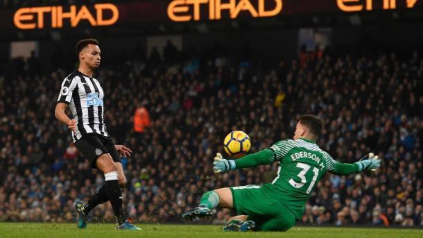Murphy marcó el gol del descuento | Foto: Premier League.