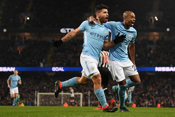 Argentinou marcou mais dois no segundo tempo (Foto: Shaun Botterill/Getty Images)