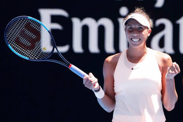 Keys has slowly worked her way into contention (Getty/Darrian Traynor)