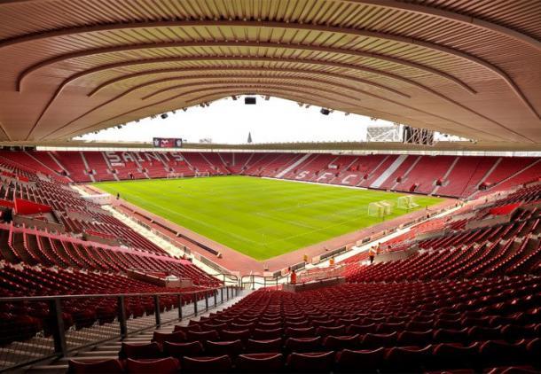 Il St Mary's Stadium - Fonte: taringa.net