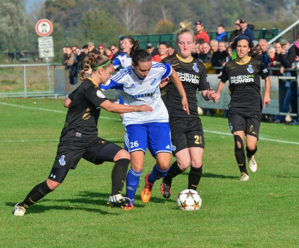 SC Sand picked up a big win against Jena | Source: doppelpass-online.de