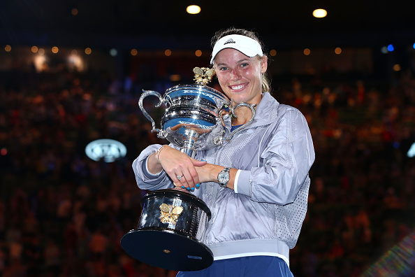 It was a dream come true for Caroline Wozniacki | Photo: Clive Brunskill/Getty Images AsiaPac