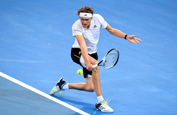 Alexander Zverev hopes to win his first title of the season (Photo: Bradley Kanaris/Getty Images)