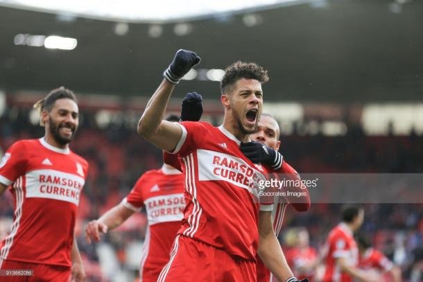 Could Rudy Gestede make an impact off the bench for Boro tonight? (picture: Getty Images)