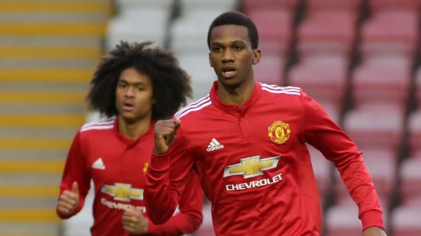 Bohui celebrando un gol | Imagen: Manchester United FC