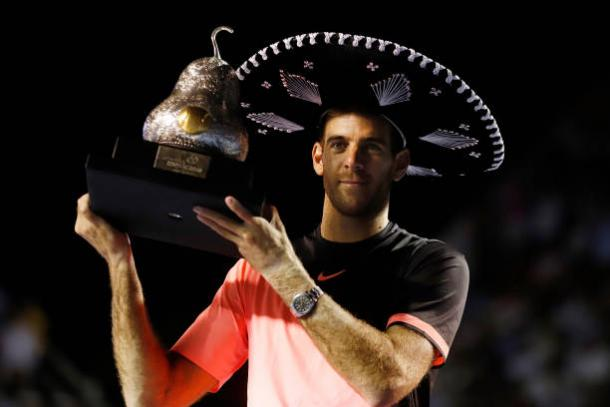 Del Potro won his 21st ATP Title at Acapulco earlier this year (Getty/Jam Media)
