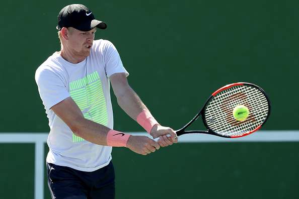 Kyle Edmund will make be making his debut and hoping to continue his comeback from injury (Photo: Matthew Stockman/Getty Images)