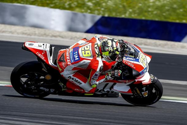 Iannone fastest over the Red Bull Ring test before the summer break - www.autosport.com