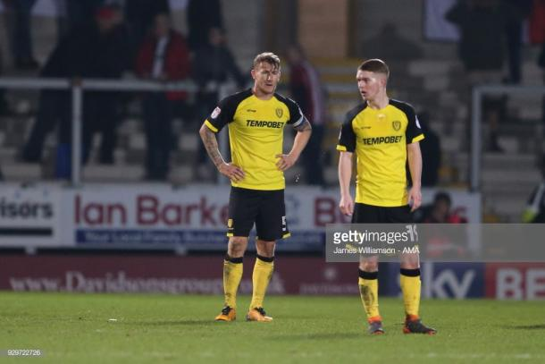 Jacob Davenport (right) gained experience on loan at Burton Albion last season. (picture: Getty Images / James Williamson - AMA(