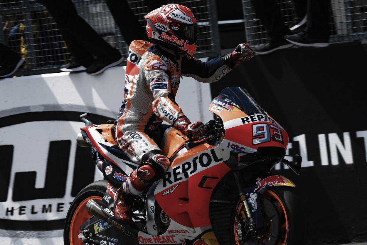 Marc Márquez, GP Alemania 2019 / Fuente: MotoGP