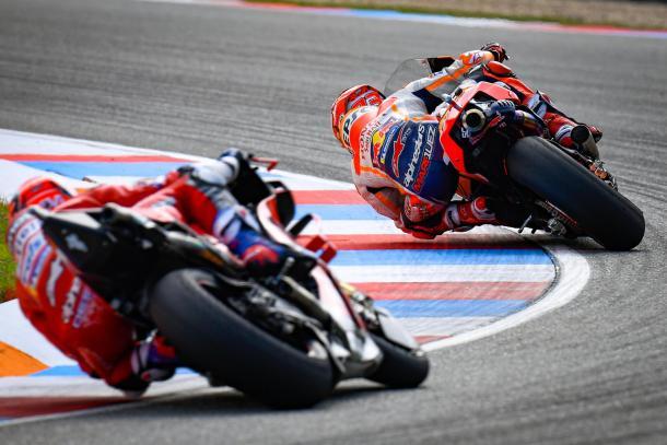 El de Ducati, tras el #93. Imagen: MotoGP