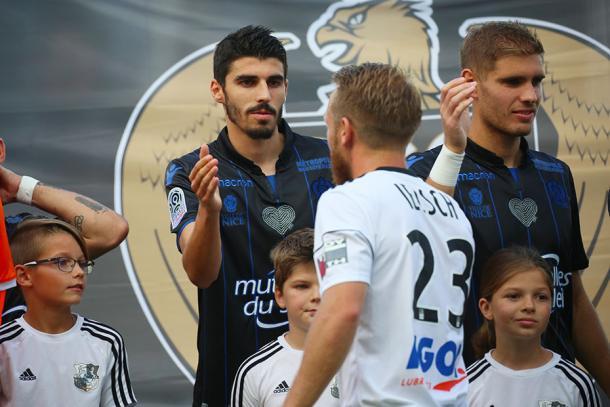 El Amiens protagonizó la gran sorpresa de la jornada venciendo al Niza. | FOTO: OGCNice.com