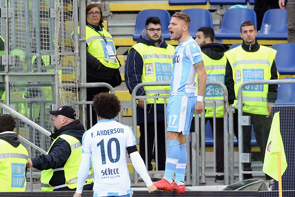 Immobile marcou um golaço para empatar o jogo (Foto: Enrico Locci/Getty Images)