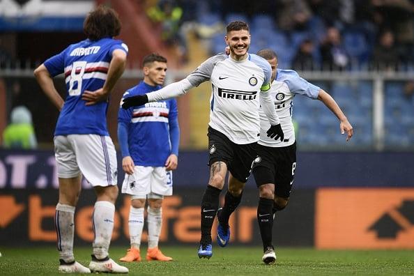 Icardi: 100 gols em 172 jogos pela Inter (Foto: Marco Bertorello/AFP)