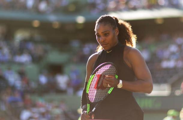 After a solid start, Williams struggled and could not match Osaka's ruthless tennis (Getty/Al Bello)