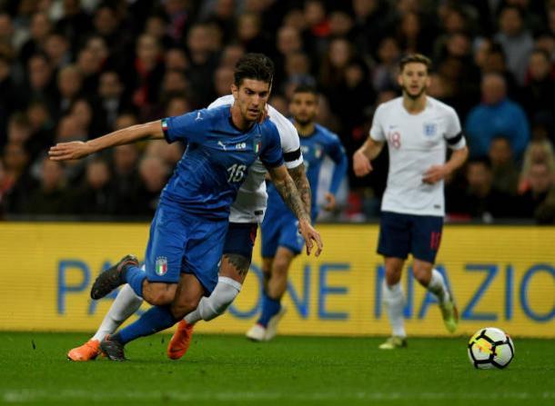Pellegrini atuou até os 79 minutos da partida (Foto: Claudio Villa/GettyImages)