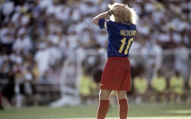 Carlos 'El Pibe' Valderrama en USA 90