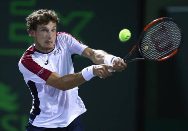 Carreno Busta was a French Open quarterfinalist last year (Getty Images/Clive Brunskill)