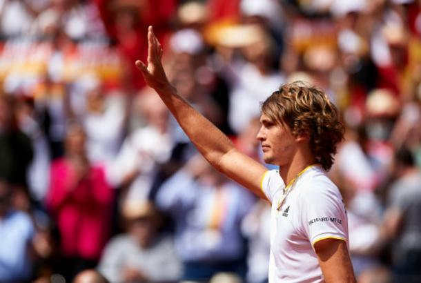 Alexander Zverev will be pleased with his impressive performance today | Photo: Manuel Queimadelos Alonso / Getty Images Sport