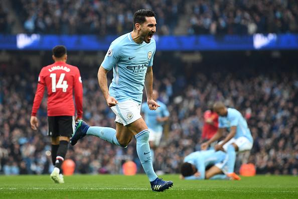 Gündogan fez o segundo gol do City no primeiro tempo (Foto: Michael Regan/Getty Images)