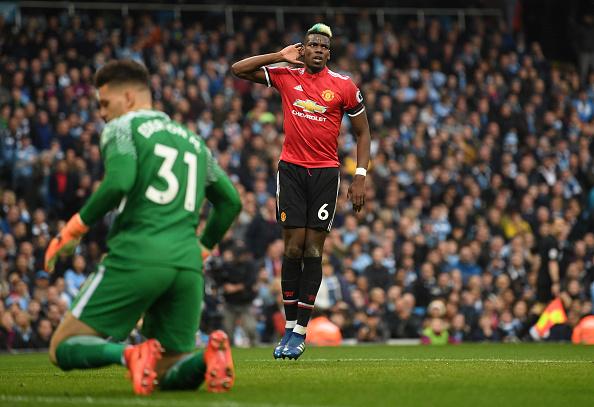 Pogba fez dois e comandou reação do United (Foto: Michael Regan/Getty Images)