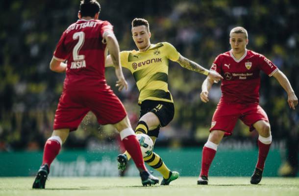 Ídolo de Dortmund voltou ao campo na vitória deste domingo (Foto: Matthias Hangst/Bundesliga/DFL/GettyImages)