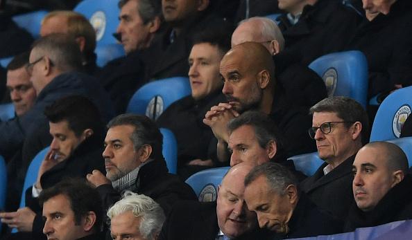 O treinador assistiu a segunda etapa da partida da arquibancada (Foto: Shaun Botterill/Getty Images)