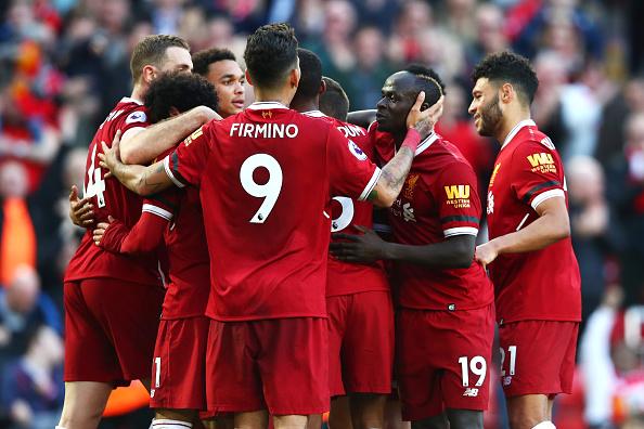 Trio de ataque se destacou novamente pelo Liverpool (Foto: Clive Brunskill/Getty Images)