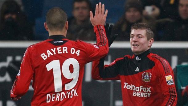 Toni Kroos en su etapa en el Bayer Leverkusen | Foto: UEFA