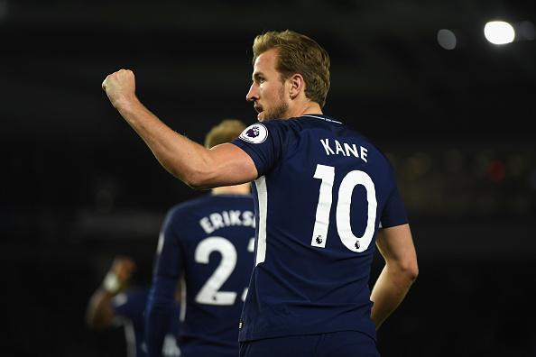 Kane continua na busca por Salah (Foto: Mike Hewitt/Getty Images)