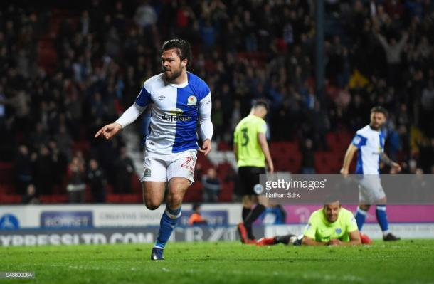 Bradley Dack was instrumental in Blackburn's promotion last season. (picture: Getty Images / Nathan Stirk)