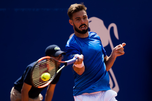 Marcel Granollers became one of the biggest names to exit the first round qualification stage (Photo: Alex Caparros/Getty Images)