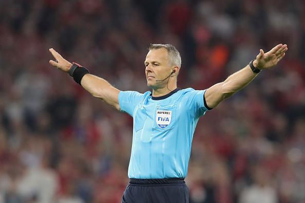 Björn Kuipers, el árbitro designado para el debut mundialista de Egipto y Uruguay | Getty Images